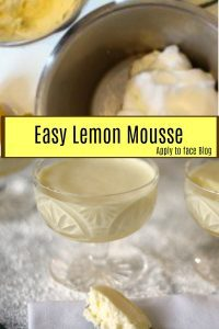 Pin Me Lemon Mousse