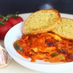 Easy Vegetable Lasagne.
