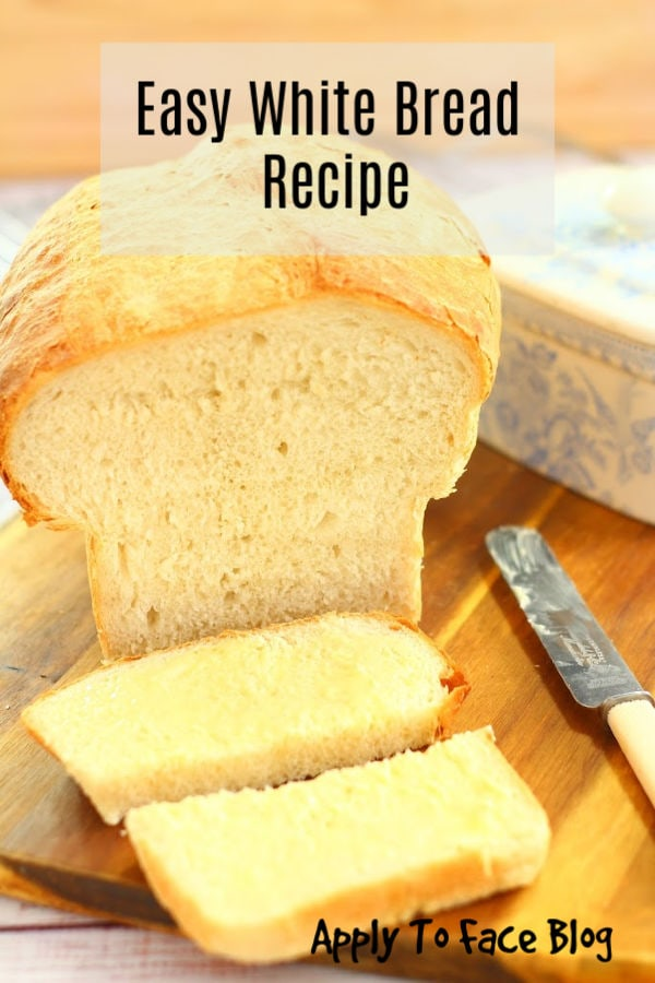 easy white bread loaf